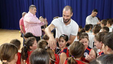 Детски волейболен фестивал събра Любо Ганев, Матей Казийски и Владо Николов