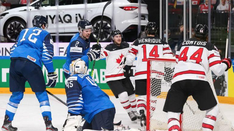 Канада стъпи на световния връх в хокея на лед