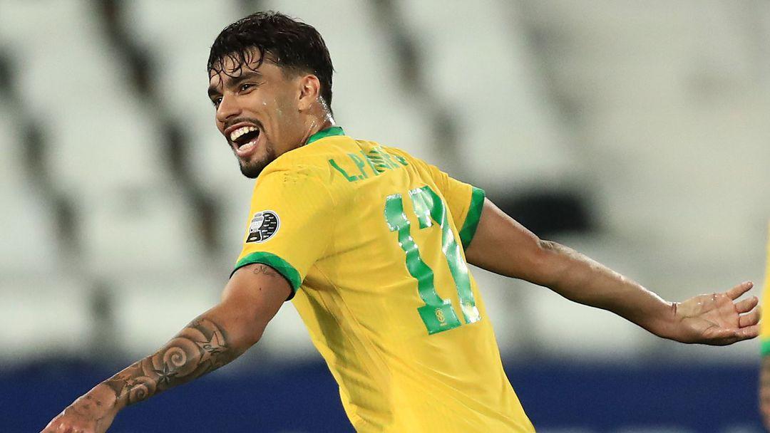 Лукас Пакета прати Бразилия на финала на Копа Америка
