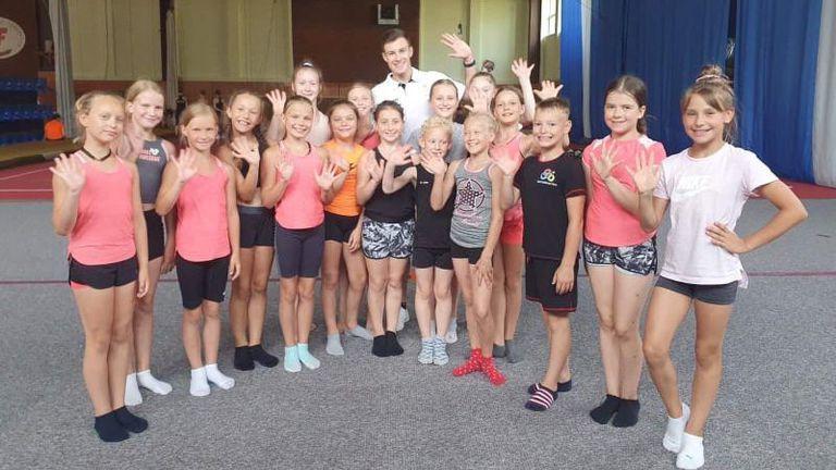 Наш световен шампион по аеробика ще води тренировъчен лагер в Литва