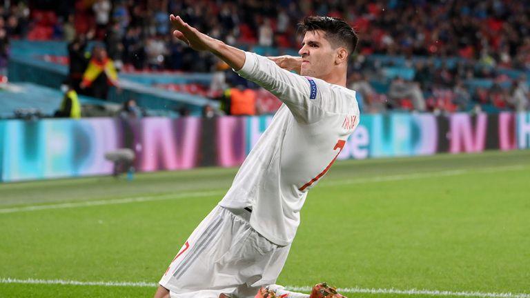 Алваро Мората - един гол, два рекорда