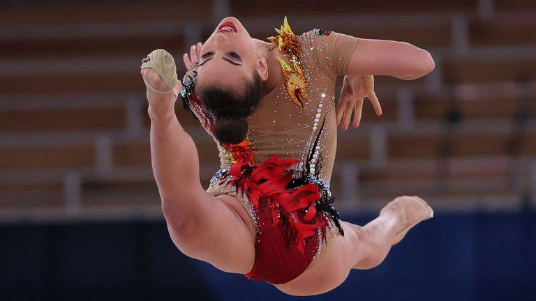 Катрин Тасева се движи на деветата позиция във временното класиране след първите две ротации