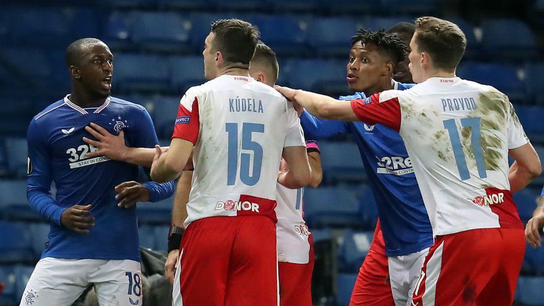 УЕФА наказа защитник на Славия (Прага) за предполагаема проява на расизъм