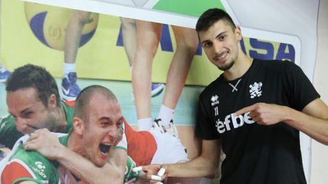 Алекс Грозданов: Надявам се на място в шестицата в Лигата на нациите  🏐