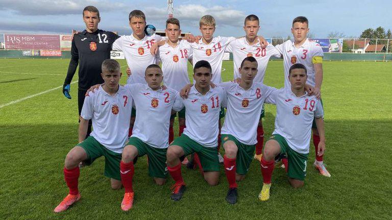 България U15 загуби от Беларус