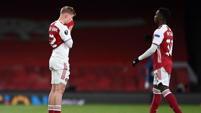 Арсенал остана без финал за първи път от сезон 2015/16