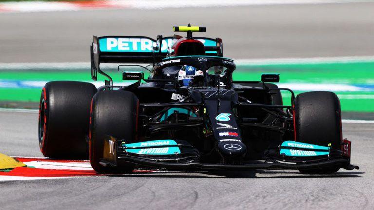 Валтери Ботас най-бърз на старта на уикенда за Гран При на Испания