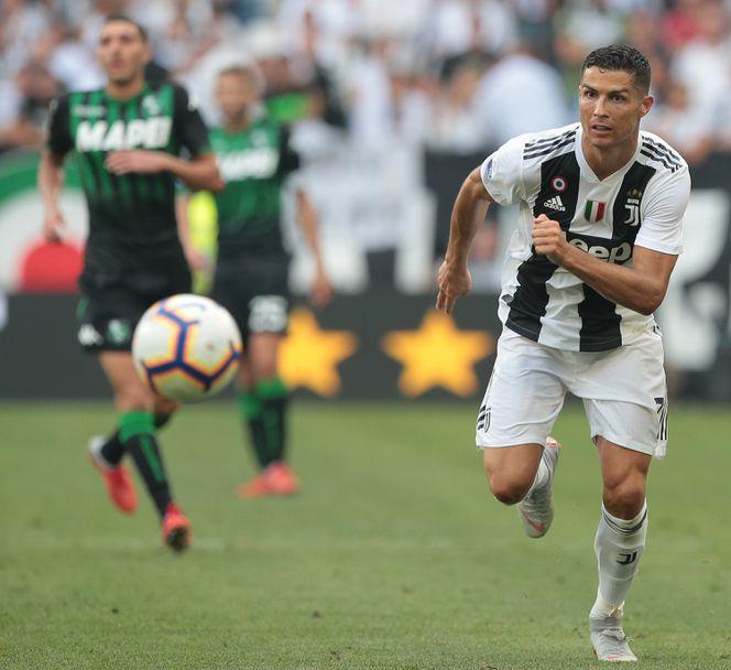 Роналдо започна с головете за Ювентус срещу Сасуоло