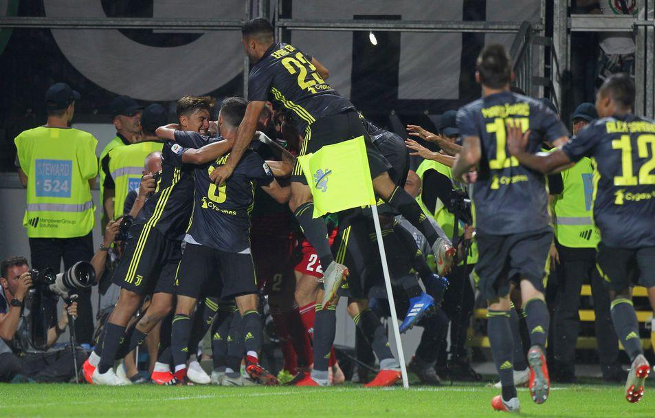 Фрозиноне - Ювентус, Роналдо с нов гол
