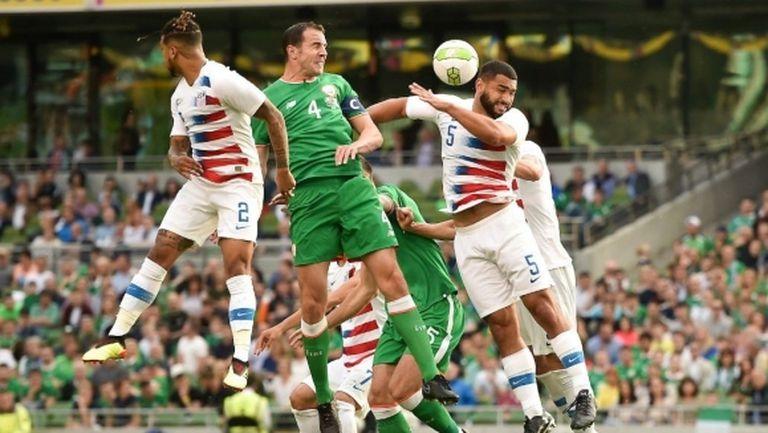 Джон О'Шей се сбогува с националния отбор с победа