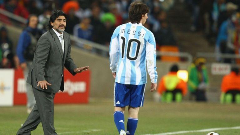 Пирло: Меси не може да надмине Марадона, ако не спечели Мондиал