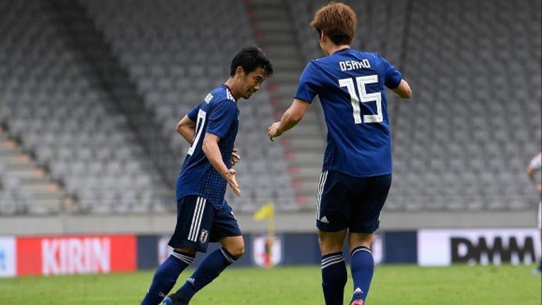 Япония финишира подготовката с победа