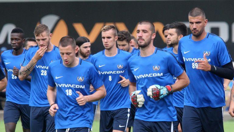 Левски започна с 26 играчи, утре ще обяви нов чужденец (видео+галерия)