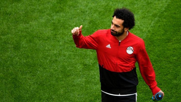 Салах е готов за мача с Русия