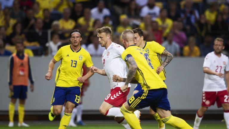 Шведите не са вкарвали от 5 часа, но това не ги притеснява