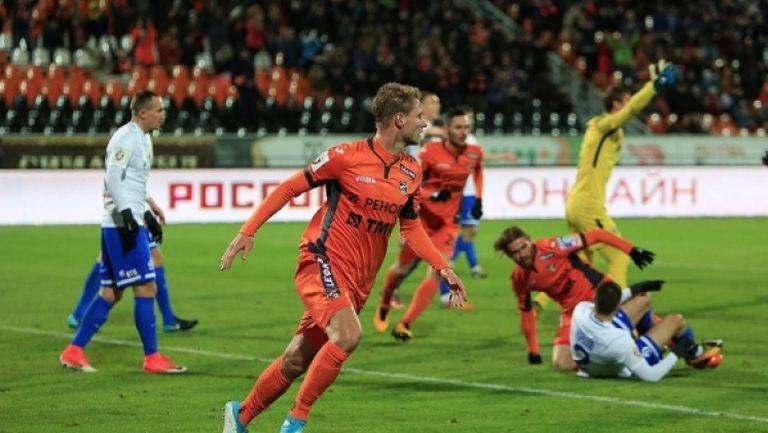 Урал - Динамо (Москва) 2:2