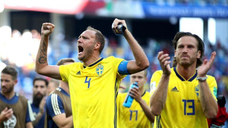 Гранквист обра славата по време на постния спектакъл между Швеция и Южна Корея