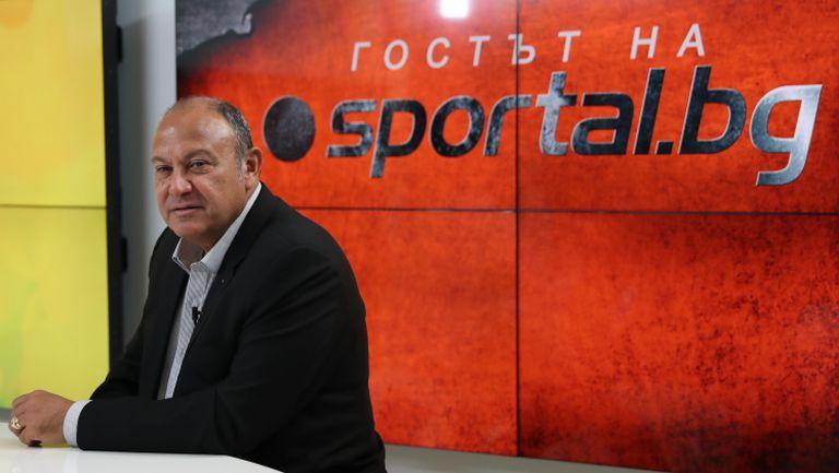 Гостът на Sportal.bg с Максим Касис - председател на Европейската билярд и снукър асоциация