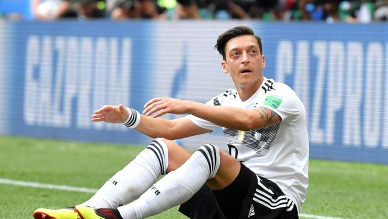 Йозил ще се откаже от националния отбор след Мондиала, смята Матеус