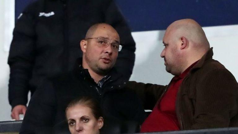 Асен Букарев и Венци Стефанов наблюдават Славия - Септември