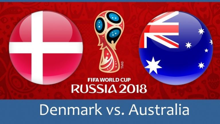 Дания излиза срещу Австралия с мисъл за плейофите