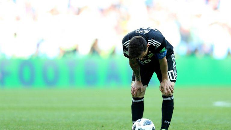 Всичко или нищо за Лионел Меси и Аржентина срещу Хърватия