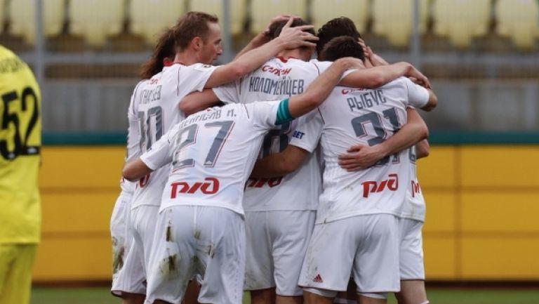 Анжи - Локомотив (Москва) 0:1