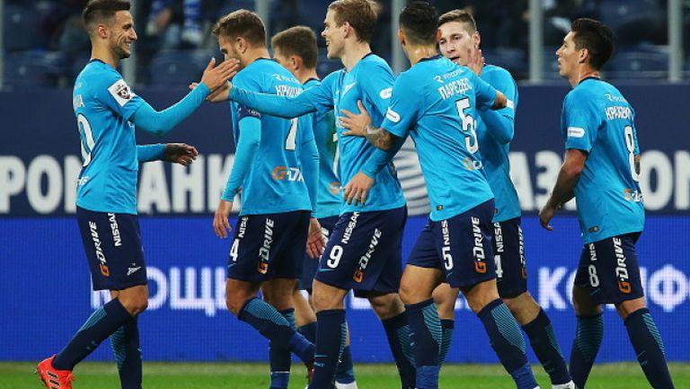 Зенит разгроми Тосно и се доближи на три точки от Локомотив