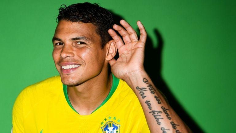 Тиаго Силва ще е капитанът срещу Коста Рика
