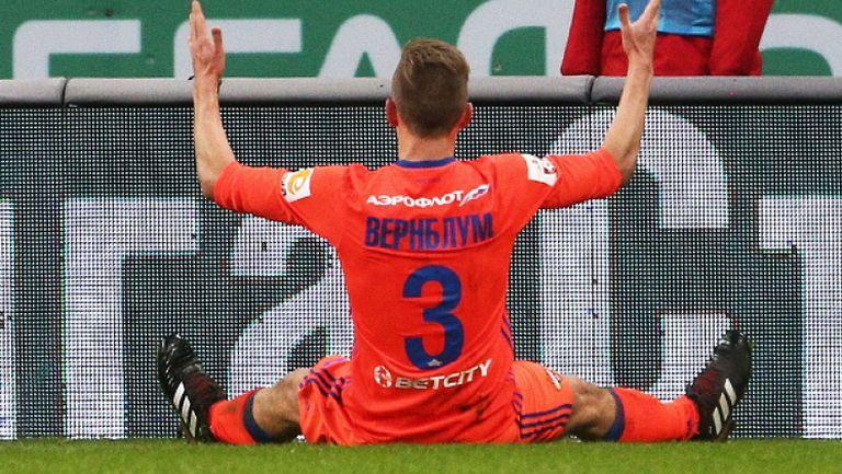 Един гол бе достатъчен на ЦСКА Москва за успех в Казан