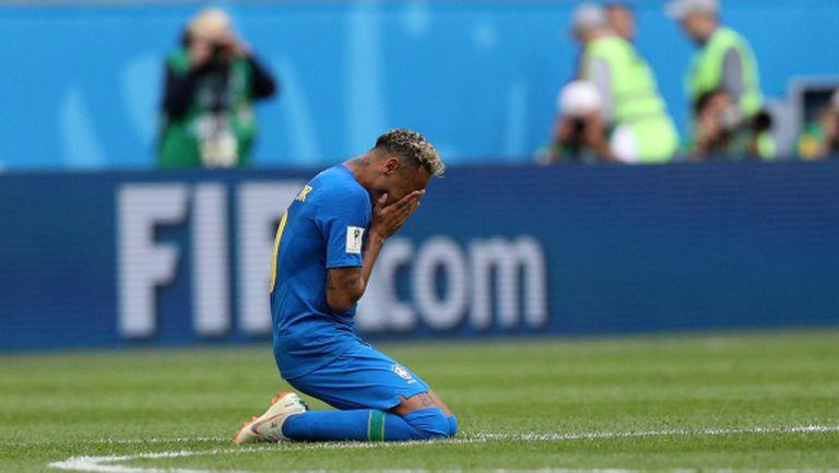 Неймар задмина Ромарио и се разплака като дете