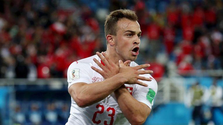 Швейцария взе важна победа срещу Сърбия с гол в последната минута (видео)