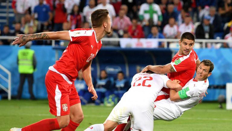 Имаше ли дузпа за Сърбия срещу Швейцария? (видео)