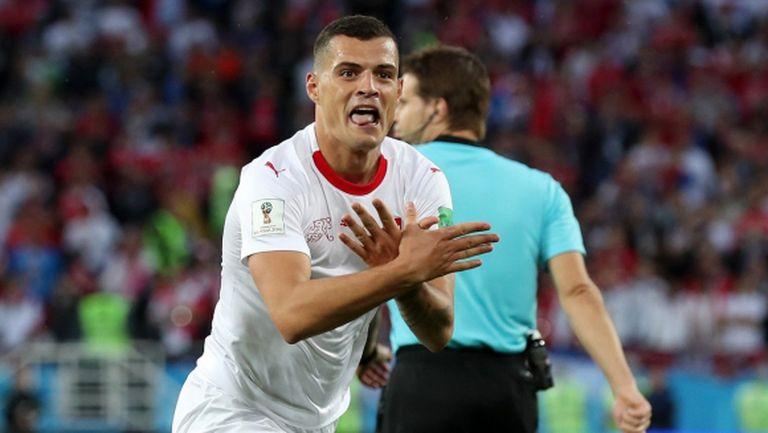 Сърбия - Швейцария не мина без провокации, всички говорят за тези жестове