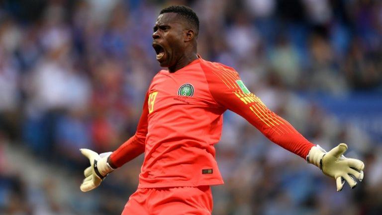 Вратарят на Нигерия влезе в историята и засенчи звездите на Мондиал 2018