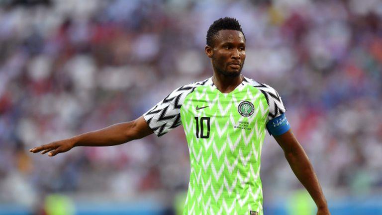 Оби Микел ще играе за Нигерия срещу Аржентина