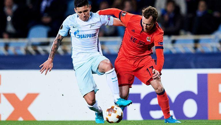 Реал Сосиедад - Зенит 0:1