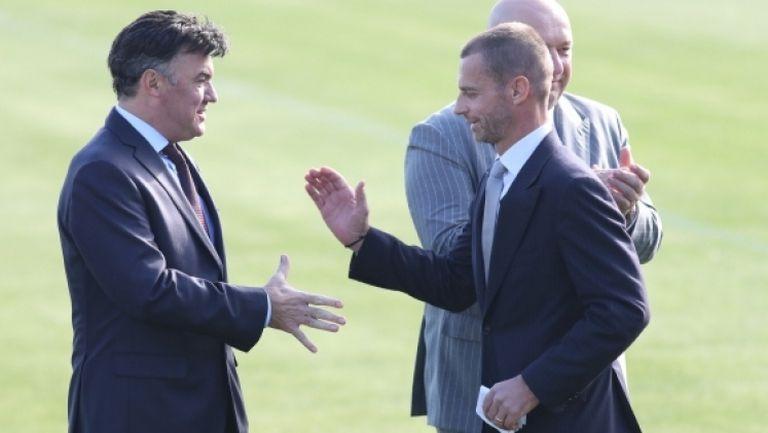 Президентът Чеферин: Боби Михайлов е мой приятел и върши много добра работа в УЕФА