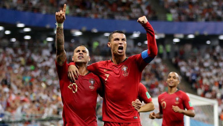 Португалия се промъкна на магия след 1:1 срещу Иран, ВАР беше с Кристиано Роналдо (видео)