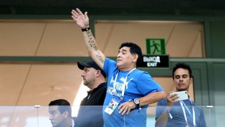 Марадона: Нека Рамос не ми се сърди, но Годин е по-добрият