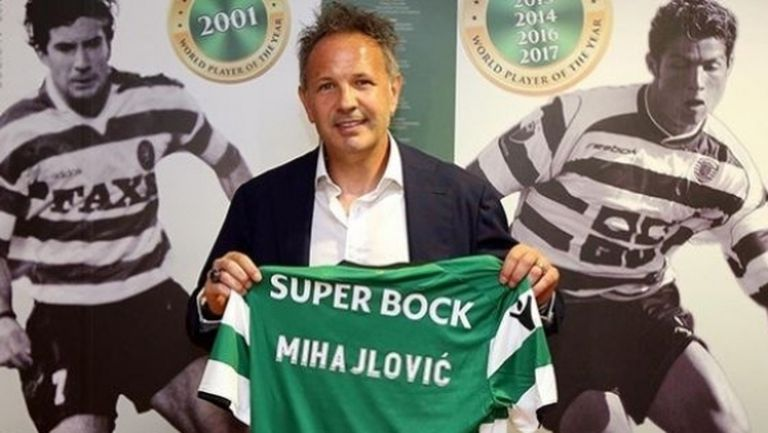 Спортинг (Лисабон) анулира договора на Синиша Михайлович