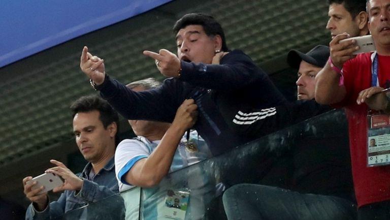 Откарали Марадона в болница след аржентинския триумф?
