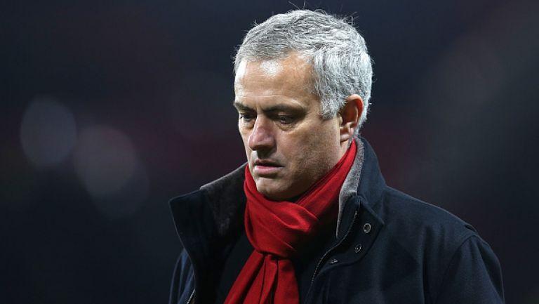 Моуриньо отново не знае как да се оправдае след поредната издънка на Юнайтед