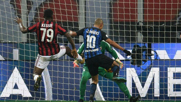 Милан - Интер 1:0