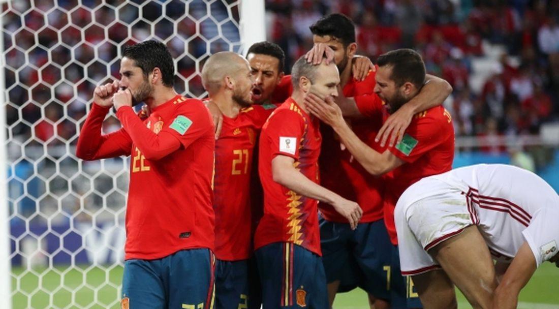 Страхотен коефициент за победа на Испания срещу Русия
