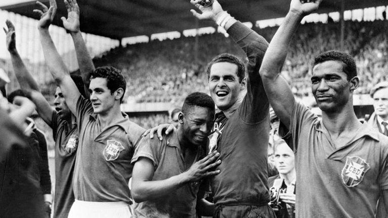 Точно преди 60 години Бразилия и Пеле вдигнаха първата си световна титла