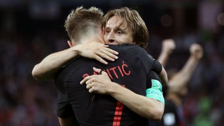 Модрич е най-добрият хърватски футболист за всички времена, смята Ракитич