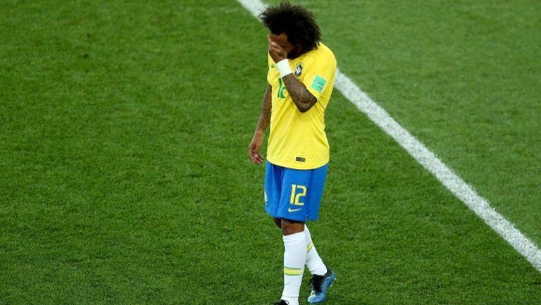 Марсело пропусна тренировката на Бразилия