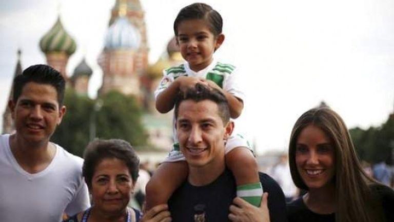 Мексиканските национали разгледаха забележителностите в Москва