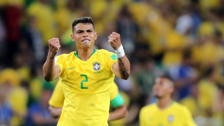 Тиаго Силва ще бъде капитан на Бразилия срещу Мексико